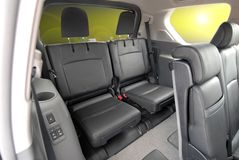 Seats in the SUV Royalty Free Stock Images