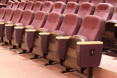 Seats in Theater Stock Photos