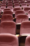 Seats in Theater Royalty Free Stock Images