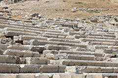 Seats in the Theater of Dionysus Stock Image