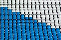 Seats on tribune Royalty Free Stock Photos