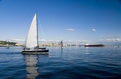 Seattle żeglując obrazy royalty free