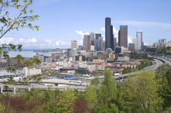 Seattle Washington Downtown Buildings Architecture Royalty Free Stock Images