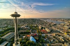 Seattle aan het Noorden Royalty-vrije Stock Afbeeldingen