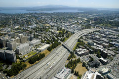 Seattle from above Stock Photos