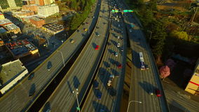 Seattle Aerial stock video