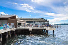 Seattle akwarium Zdjęcie Royalty Free