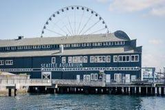 Seattle akwarium na Puget Sound Fotografia Stock