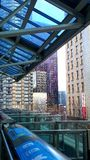 Seattle ALWEG Monorail westlake station Royalty Free Stock Images