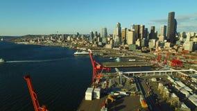 Seattle antenn stock video
