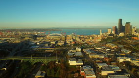 Seattle antenn lager videofilmer