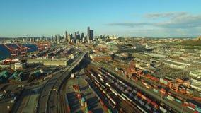 Seattle-Antenne stock video
