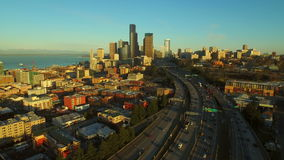 Seattle-Antenne stock footage