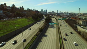 Seattle-Antenne stock video footage