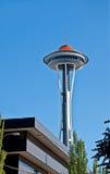 SEATTLE - 21 aprile - anniversario dorato di Seattle Spaceneedle Fotografie Stock Libere da Diritti