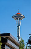 SEATTLE - 21 avril - anniversaire d'or de Seattle Spaceneedle Photos libres de droits