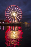 The Seattle Big Wheel Royalty Free Stock Photography