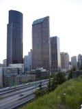 Seattle céntrica fotos de archivo libres de regalías