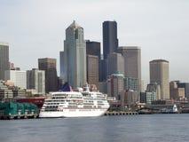 Seattle céntrica, WA fotos de archivo