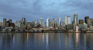 Seattle céntrica, Washington Imágenes de archivo libres de regalías