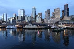 Seattle céntrica, Washington Fotografía de archivo
