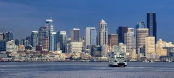 Seattle céntrica, Washington Foto de archivo