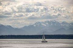 Seattle céntrica, Washington Foto de archivo libre de regalías