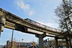 Seattle Center Monorail Royalty Free Stock Photos