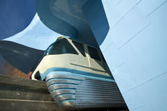 Seattle Center Monorail Royalty Free Stock Image