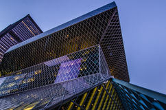 Seattle Central Library Stock Photo