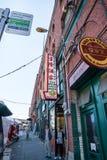 Seattle Chinatown Fotos de archivo libres de regalías