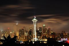 Seattle city stock image