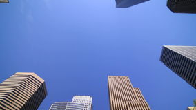 Seattle City Driving Sky View stock video footage