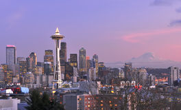 Seattle City Landscape Stock Photo