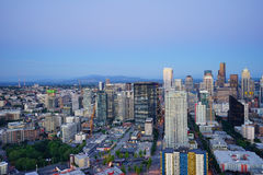 Seattle city panorama Stock Photos