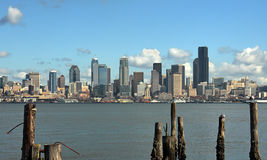 Seattle city skyline Royalty Free Stock Image