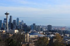 Seattle City Skyline Stock Photos