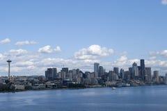 The Seattle city skyline Royalty Free Stock Photo