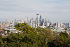 Seattle Cityscape royalty free stock photo
