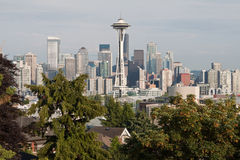 Seattle Cityscape Stock Photos