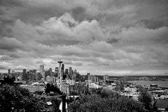 seattle cityscape Royalty Free Stock Photo