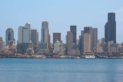 Seattle Cityscape Royalty Free Stock Image