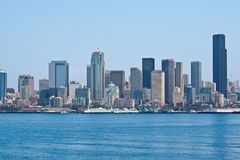 Seattle Cityscape Stock Photography
