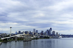 Seattle Cityscape Royalty Free Stock Photos
