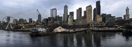 Seattle Cityscape Royalty Free Stock Images