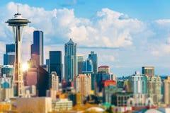 Seattle Cityscape Stock Photos