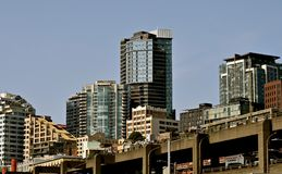 Seattle Cityscapes Arkivbild