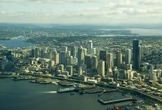 Seattle céntrica de arriba Fotos de archivo