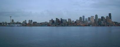 Seattle Coastline Royalty Free Stock Photos