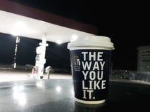 Seattle Coffee Company Fotografia Stock Libera da Diritti